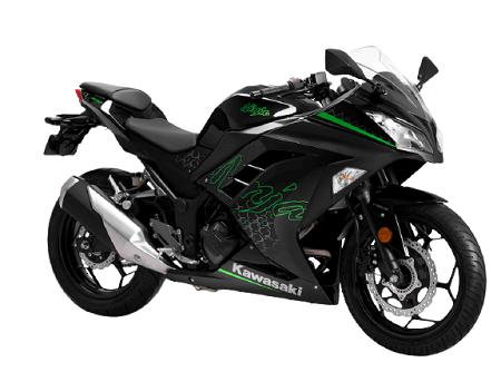 The Kawasaki Ninja 300