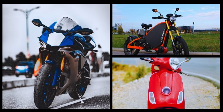 Read more about the article Comparison of Mopeds vs. Scooters vs. Motorcycles