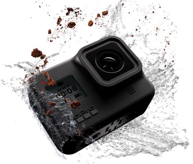 GoPro Hero8 Black is the best motorcycle helmet camera