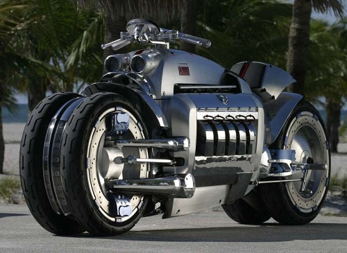 Dodge TOMAHAWK - Second most powerful motorcycle in the world (and the most fastest production motorcycle in the world)