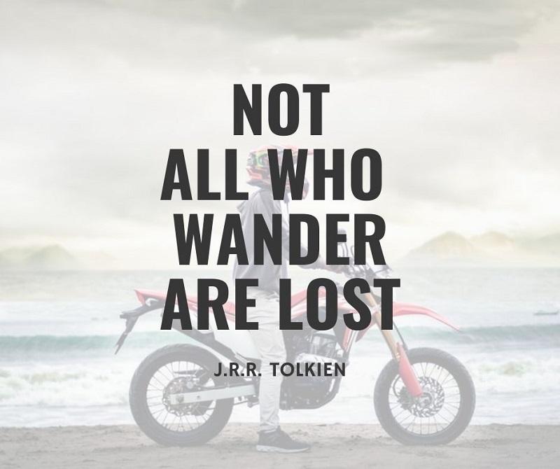 Motorcycle Adventure Travel Quotes