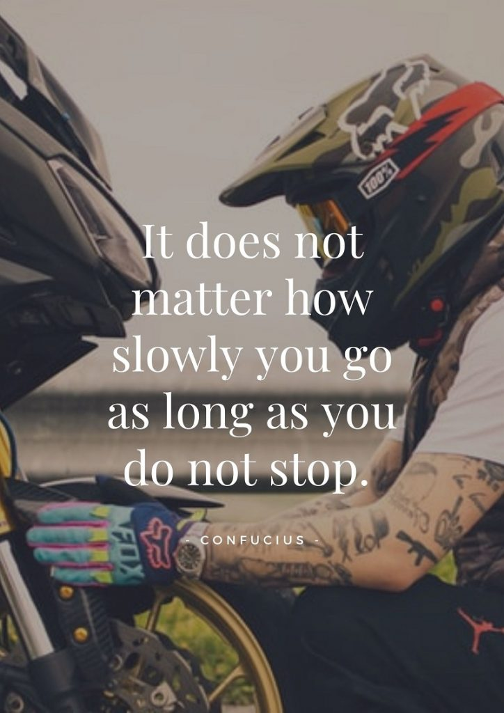 Motorcycle inspiration quotes
