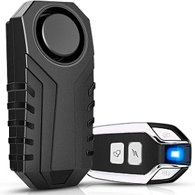 Onvian motion sensor alarm for motorcycles