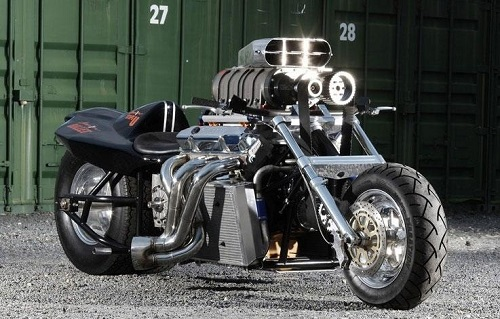 Rapom V8 Monster Bike - The most powerful motorcycle in the world