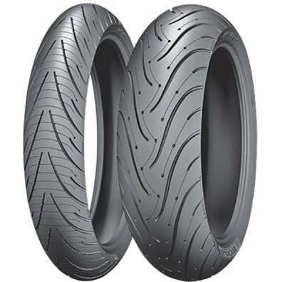 Why front and rear tires have opposite tread
