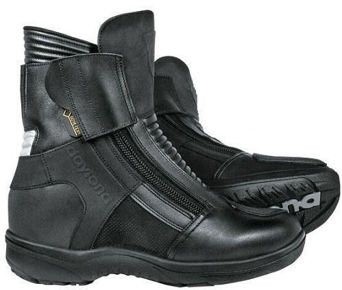 Max Sports GTX motorcycle boots for short riders